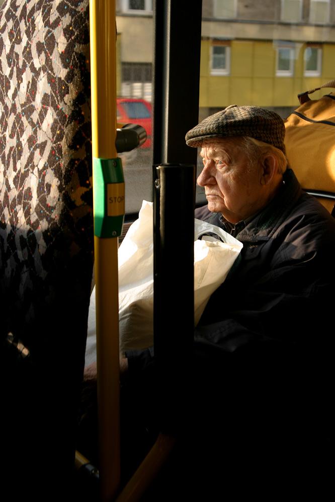 S-Bahn nach Hause - in die Einsamkeit