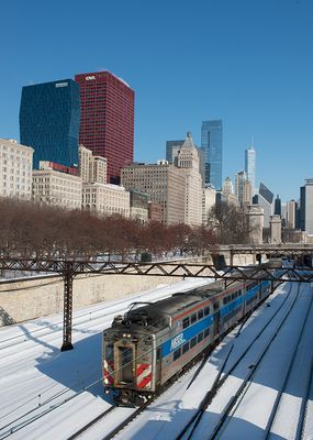 S-Bahn Nahverkehr in Chicago