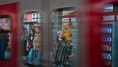 S-Bahn Spiegelung Köln