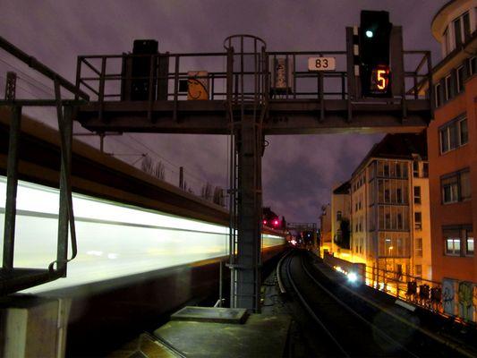 S Bahn Trasse Richtung Museumsinsel