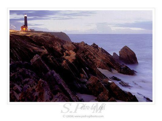 """""""S. Pedro de Moel"""" after sunset"""