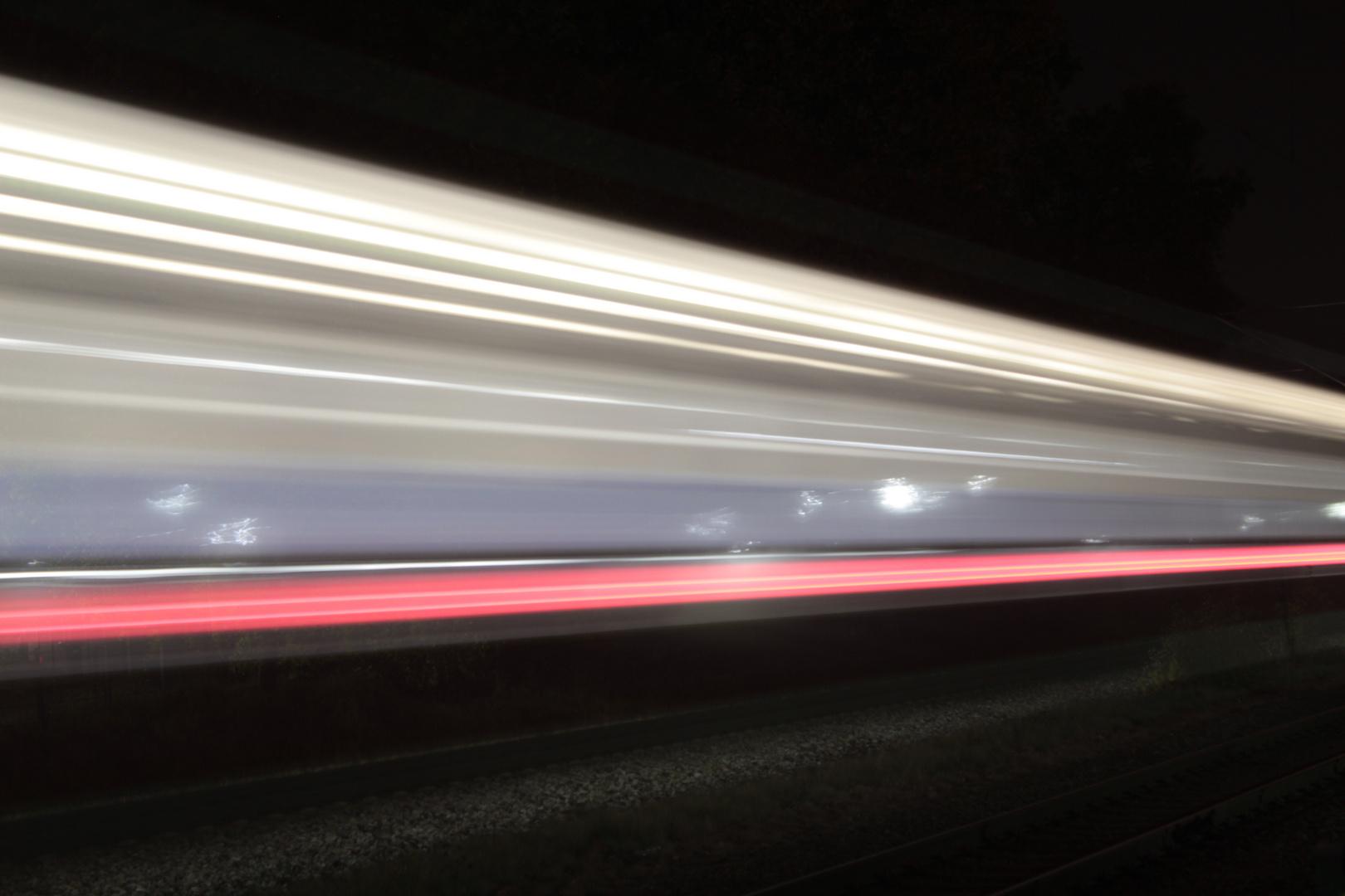 S3 bei Nacht