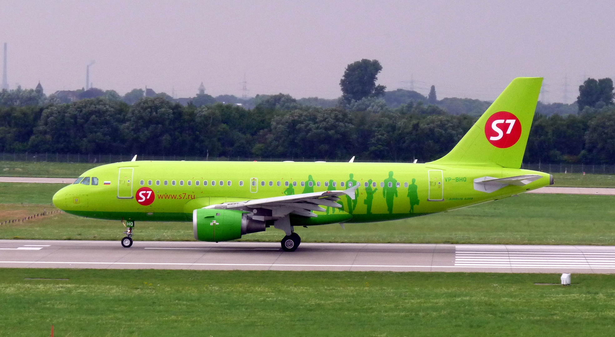 S7 Airlines Airbus A319-114
