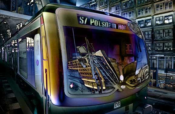 S7 nach Potsdam