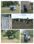 ...Sa Bassa Blanca - Skulpturenpark...