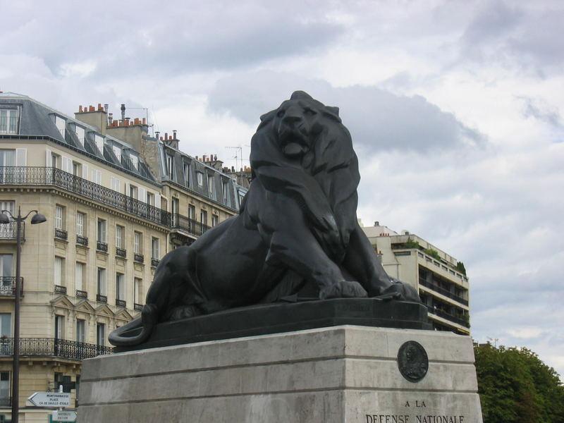 Sa Majesté le lion de Belfort