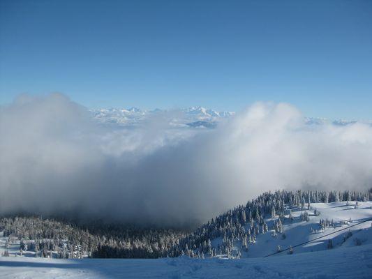 Sa majesté le Mont Blanc...
