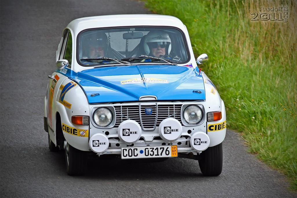 Saab fahren is cool...