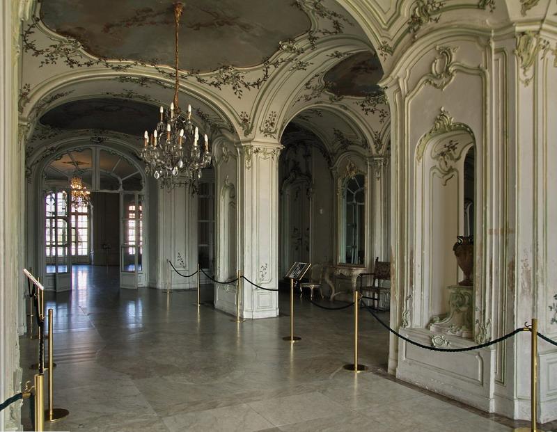 Saal im Schloss Eszterhaz