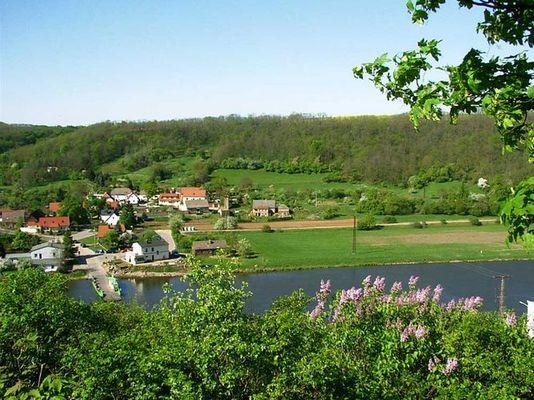 Saale bei Rothenburg