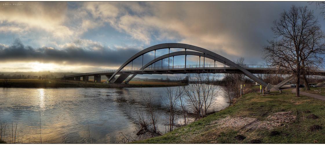Saalebrücke in Nelben