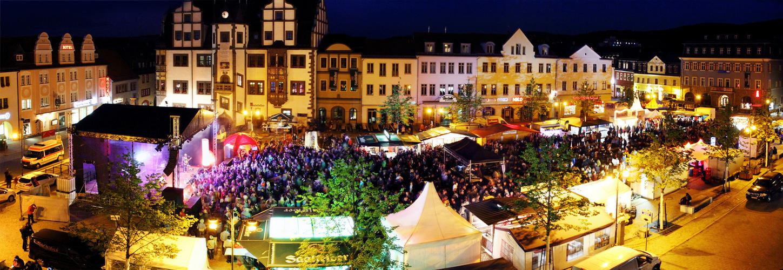 Saalfelder Marktfest am 14.06.2014 mit Antenne Thüringen