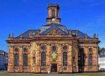 Saarbrücker Ludwigskirche entzerrt