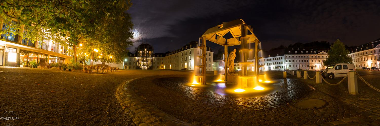 Saarbrücker Schloss mit Brunnen