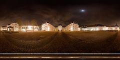 Saarbrücker Schlossplatz by Night - 360° Panorama