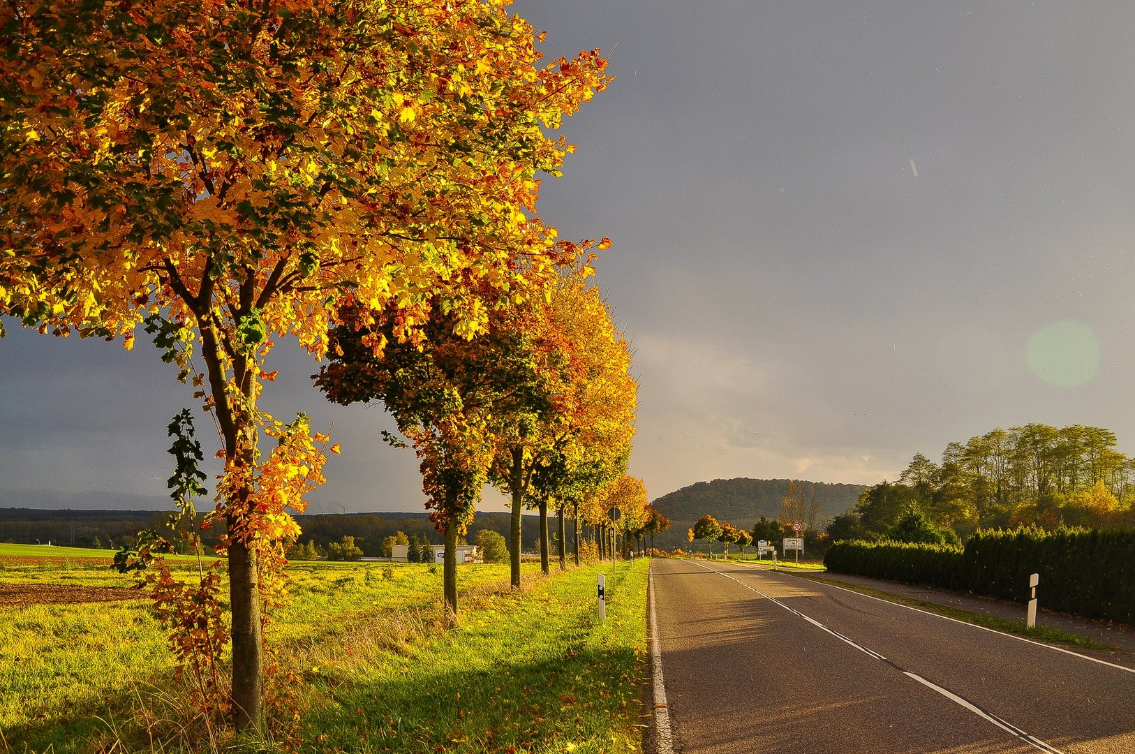 Saarland im Herbst