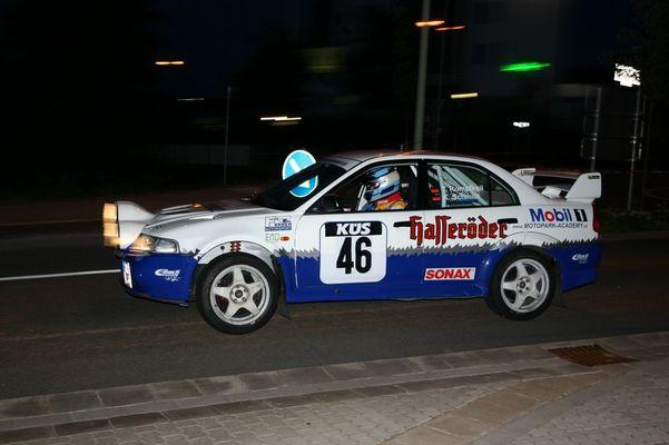 Saarland-Rallye 2004 Shakedown