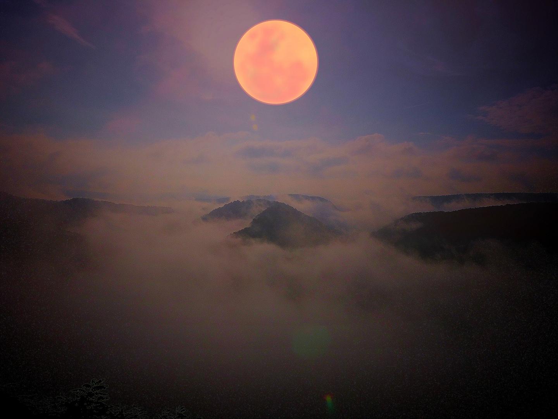 Saarschleife Sonneaufgang