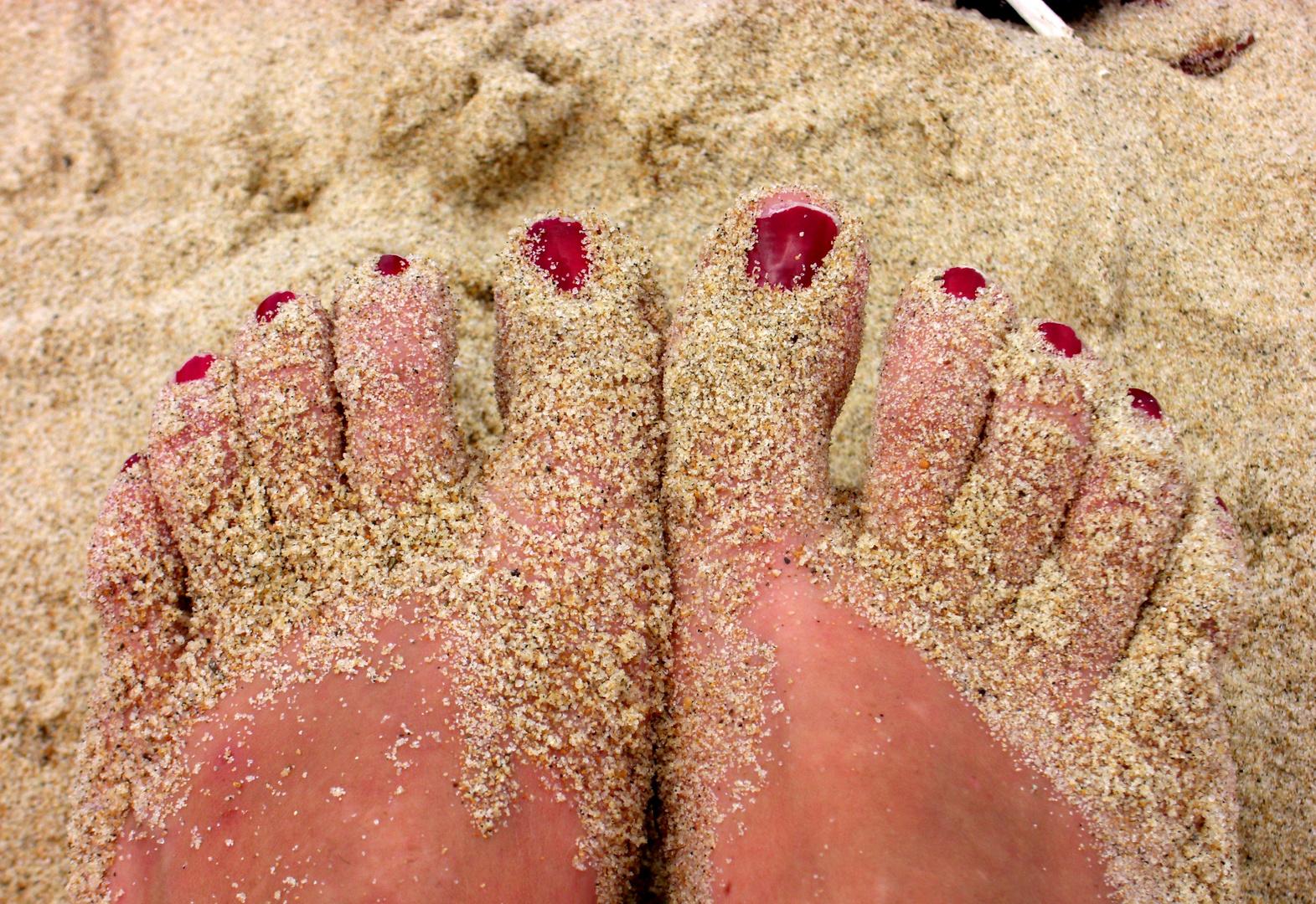 sabbia e smalto rouge