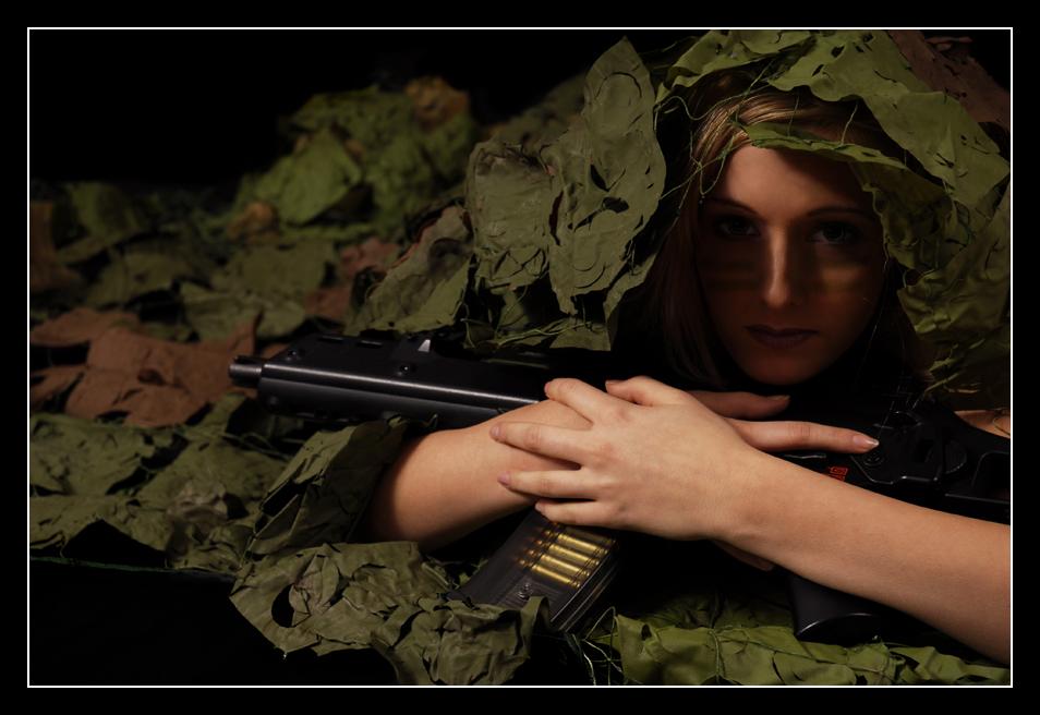 Sabrina 3 - Armygirl