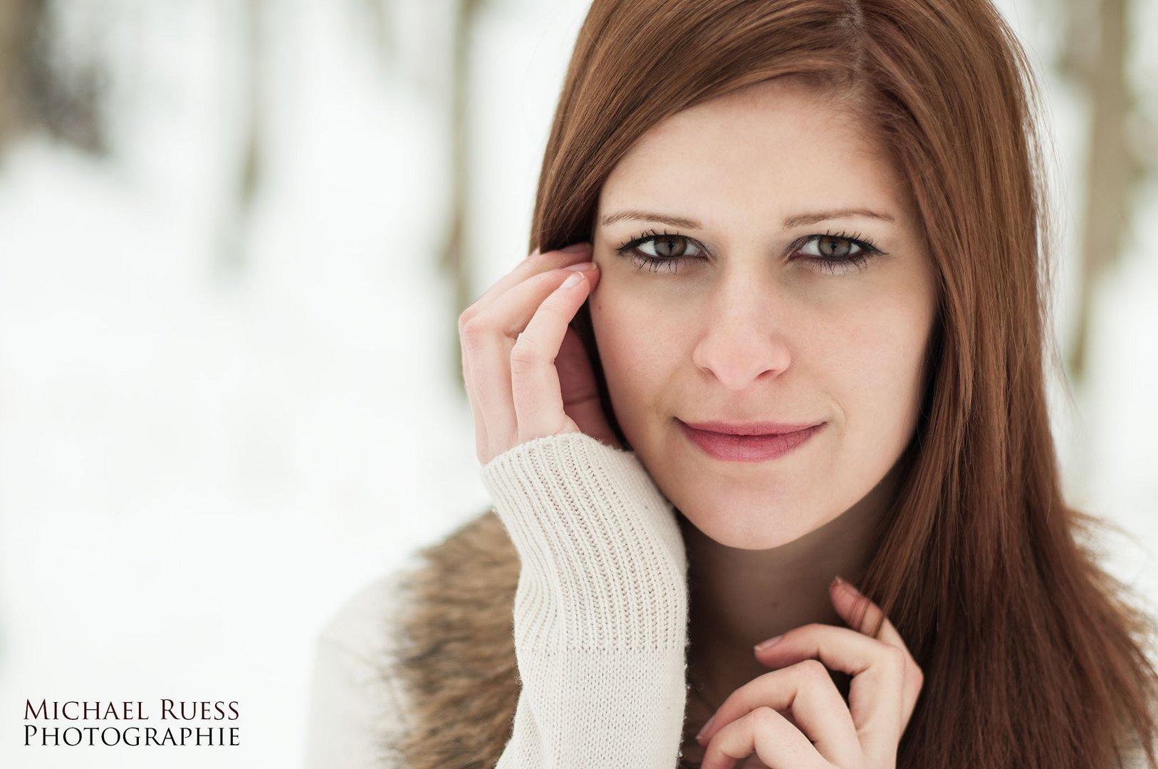 Sabrina im Schnee