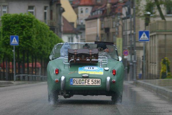 Sachs-Franken-Classic im Regen