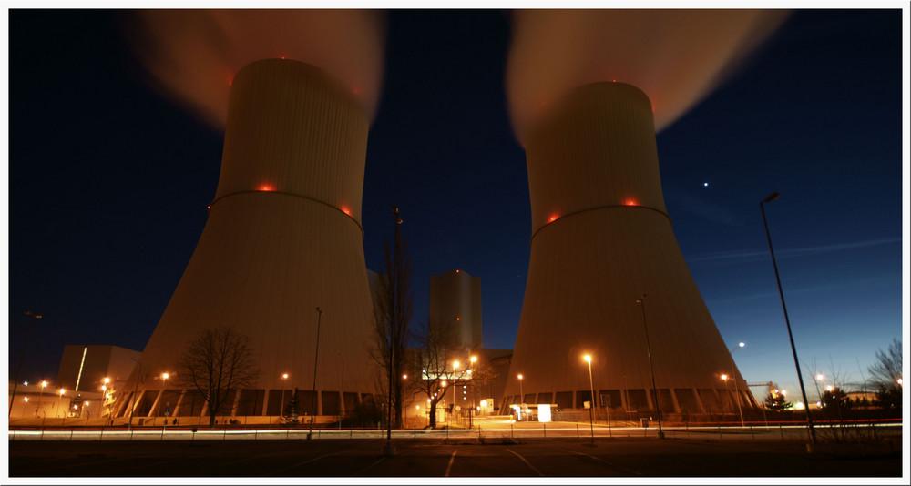 Sachsen-Kraftwerk-Lippendorf - Kühltürme