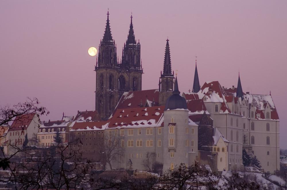 Sachsen - Meissen, Albrechtsburg mit Dom 2