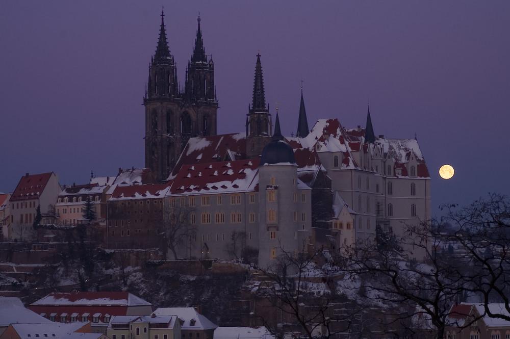 Sachsen - Meissen, Albrechtsburg mit Dom