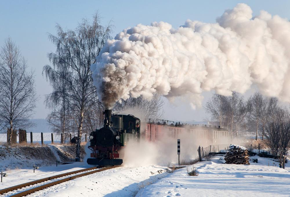 Sachsenzug im Winter