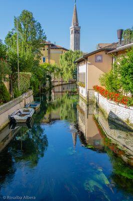 Sacile-Scorcio sul fiume Livenza