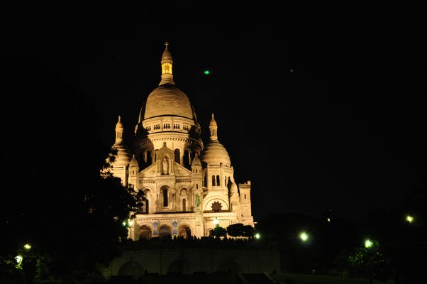 Sacre Coeur bei Nacht