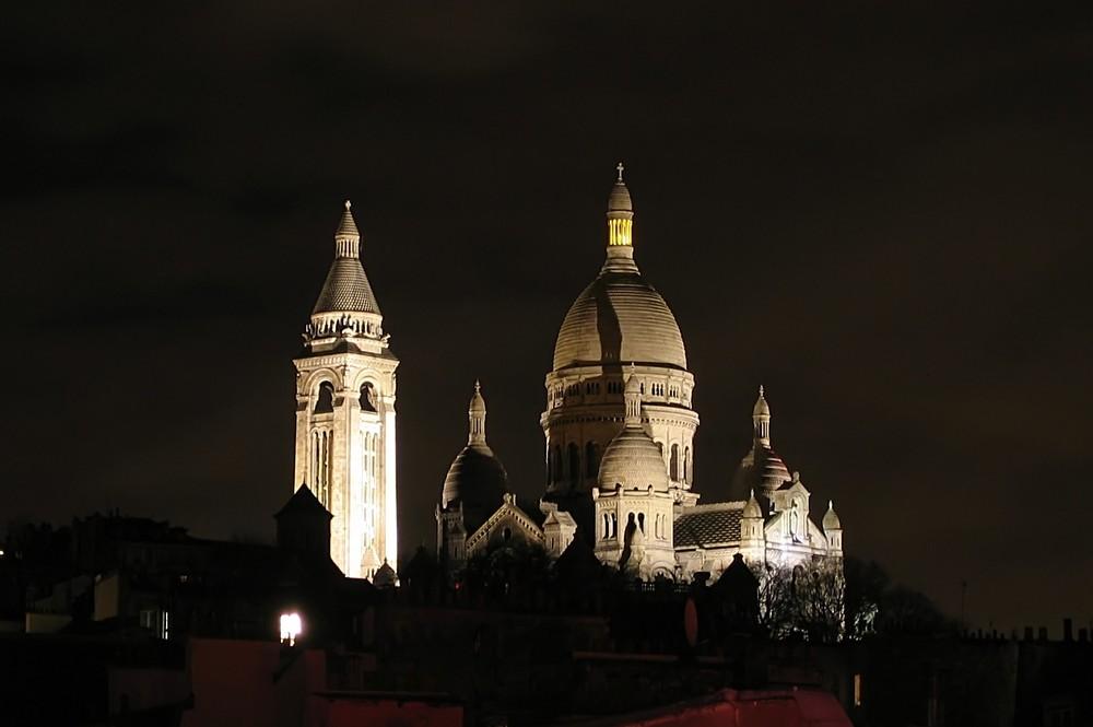 Sacré-Coeur (Nacht)
