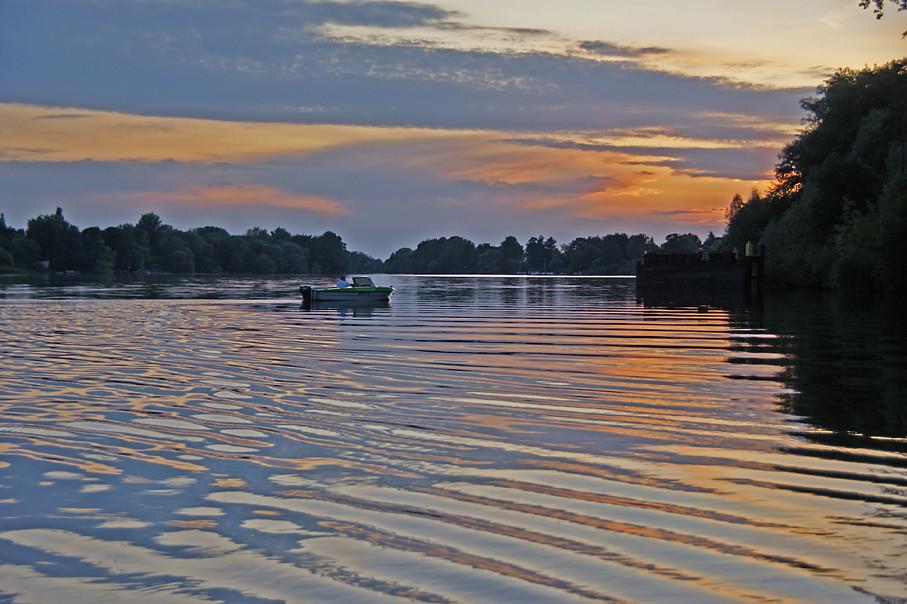 Sacrow-Paretzer Kanal/Weißer See, 27.07.09 – 02