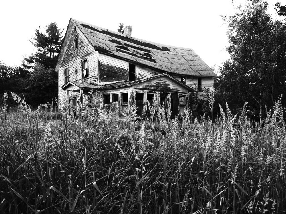 Sad old house