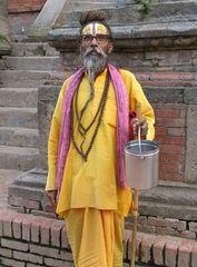 Sadhu mit Brille