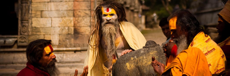 Sadhus from Pashupatinath, Kathmandu