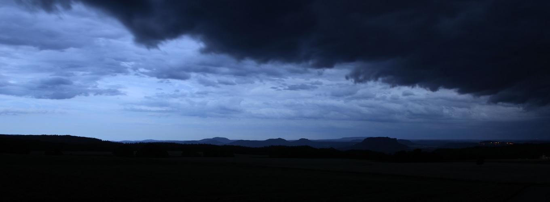 Sächsische Schweiz, Untergang