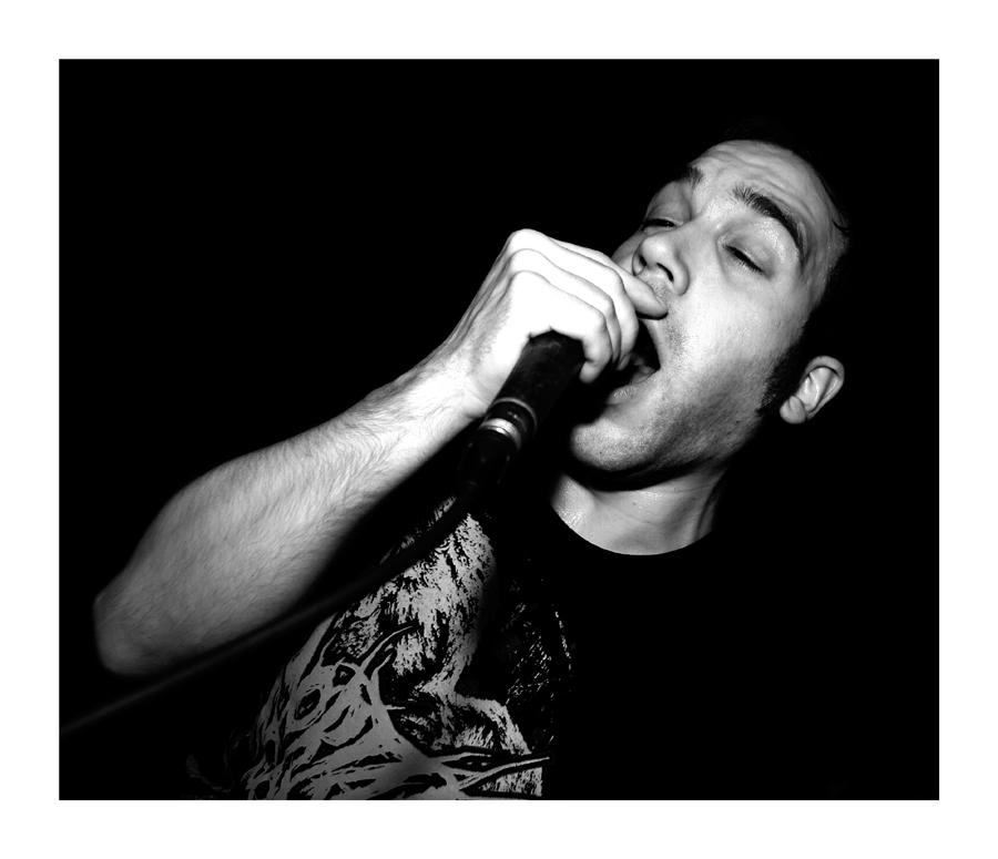 Sänger der Band Mortal Agony