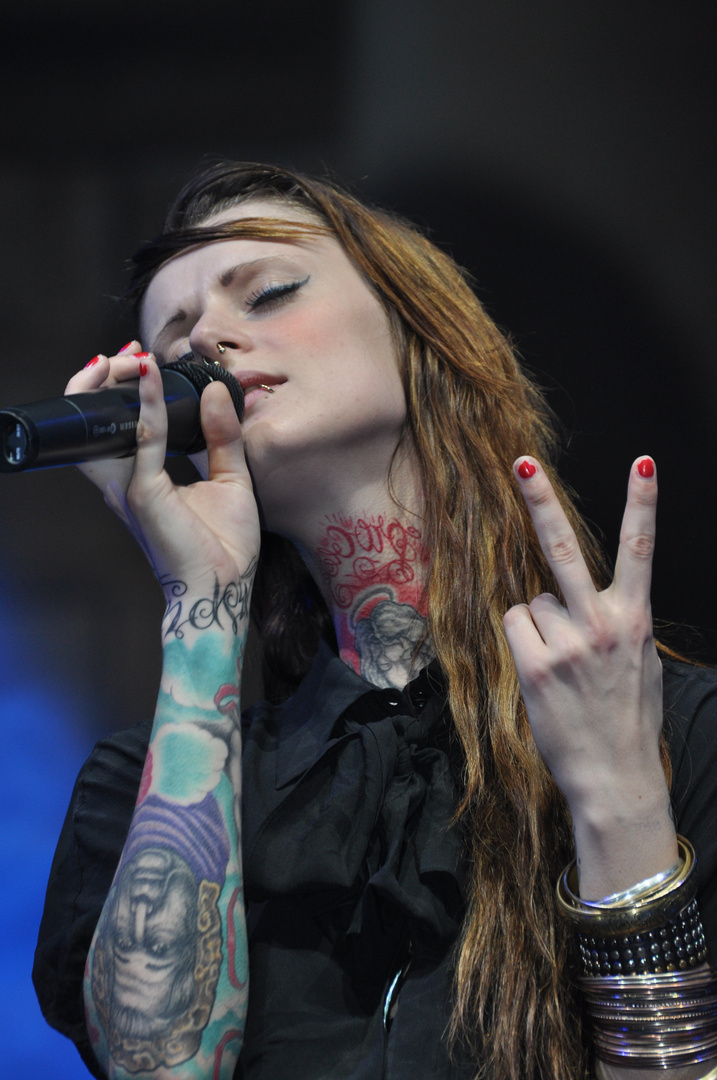 Sängerin von Jennifer Rostock