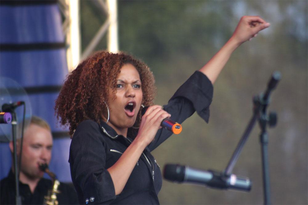 Sängerin von Mousse T.