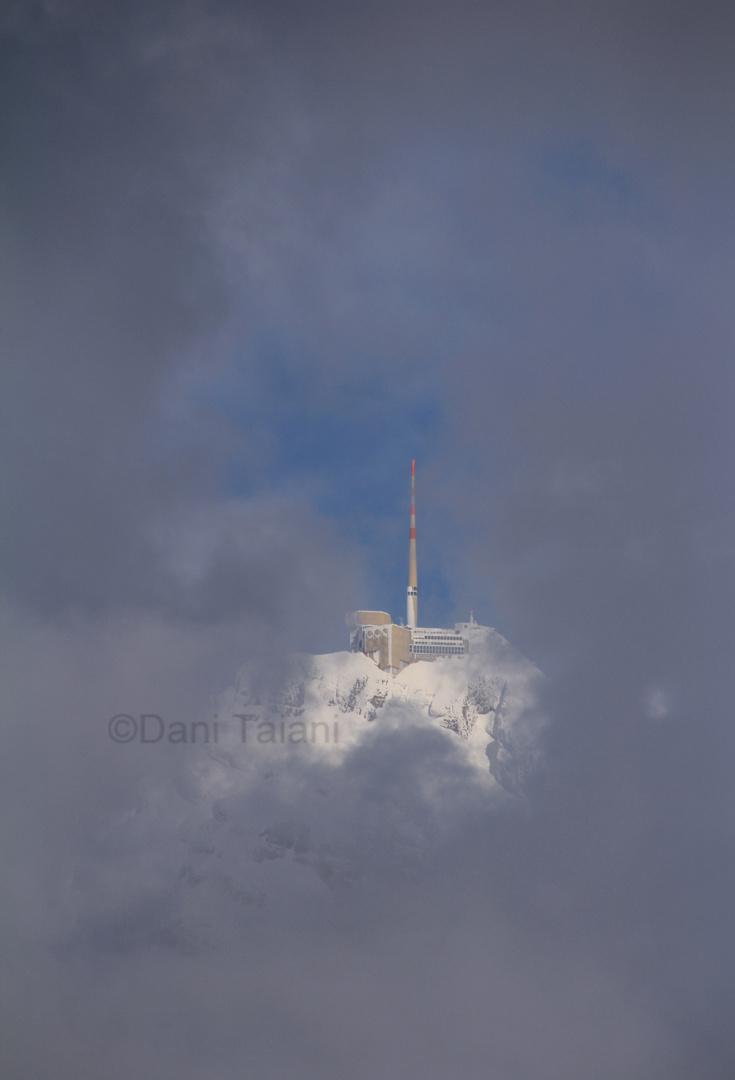 Säntis im Nebel