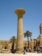 Säule im Karnak Tempel