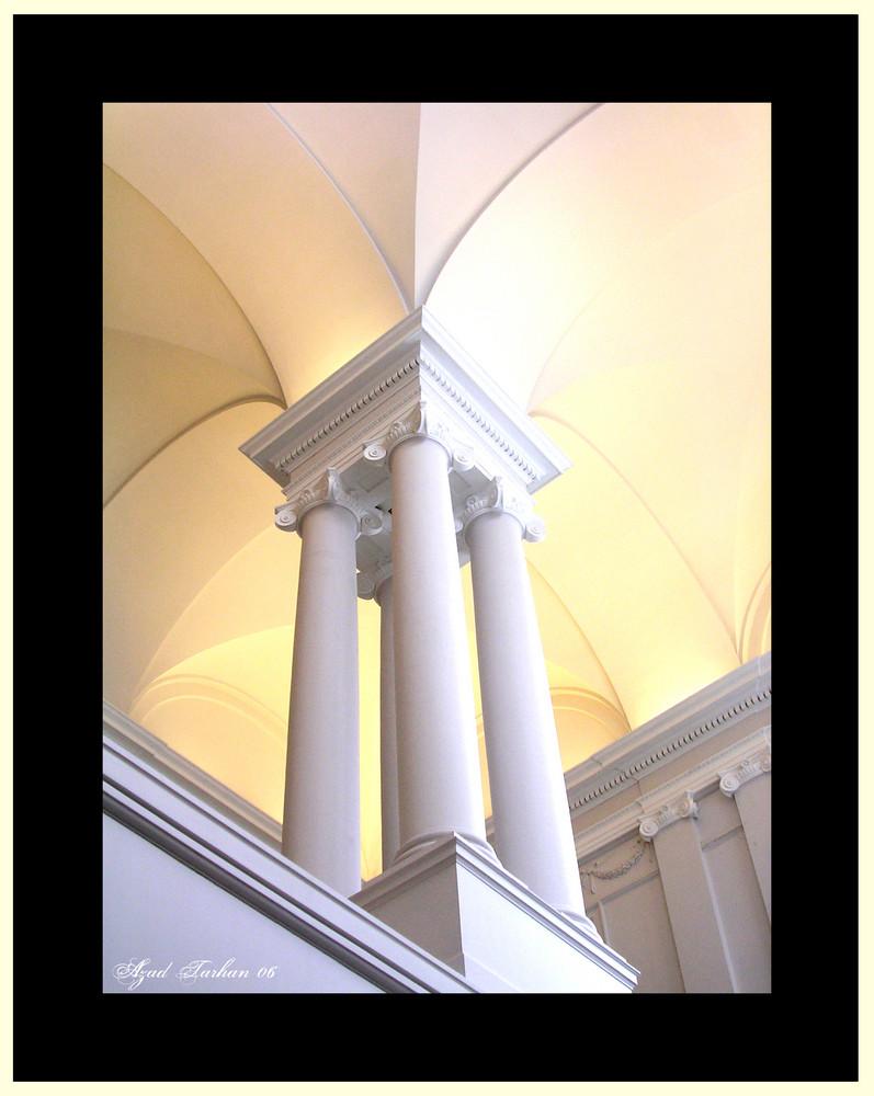 Säule im Museum