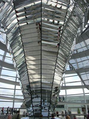 Säule im Reichstag Berlin