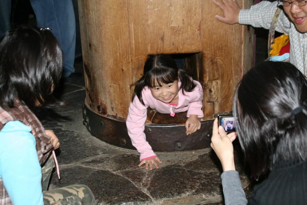 Säule imTodai-ji in Nara.