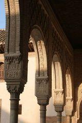 Säulen in der Alhambra - Granada