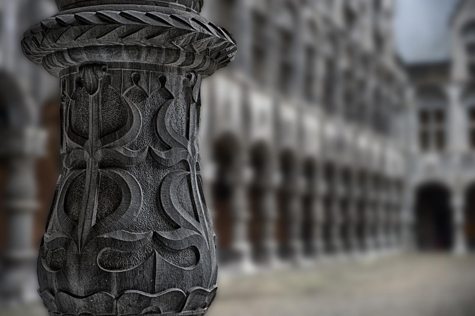 Säulengang ....