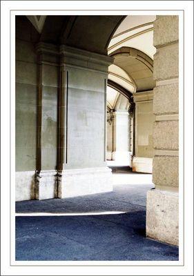 Säulenimpression beim Bundeshaus