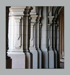 Säulenspalier